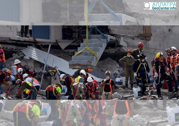 Второе землетрясение в Мексике за три дня, февраль 2018 г.