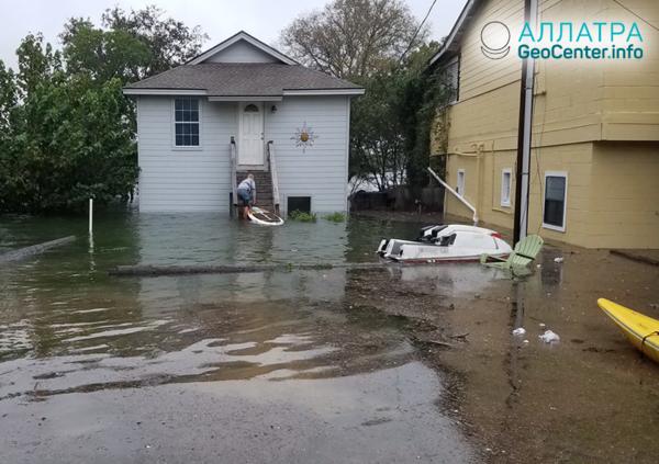 Наводнение в Техасе, октябрь 2018 г.