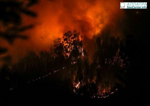 Лесные пожары на Дальнем Востоке, Россия, май 2018 г.