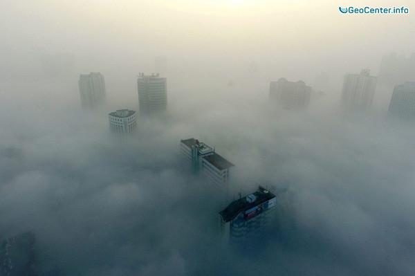 Смог и туман в Пекине