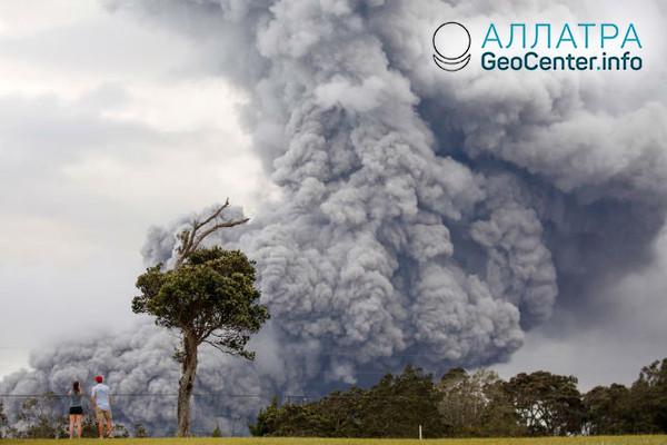 Новости с Гавайского вулкана Килауэа, май 2018 г.