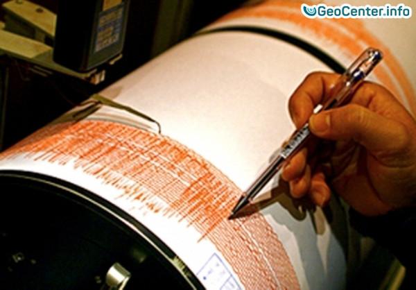 Землетрясение магнитудой 5.3 у берегов Чили