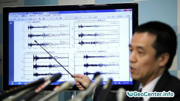 Землетрясение магнитудой 4.6 в Японии, август 2017