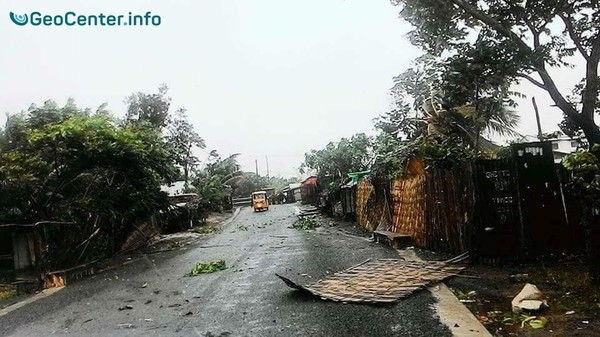 """Тропический циклон """"Ава"""" достиг Мадагаскара, январь 2018 г."""