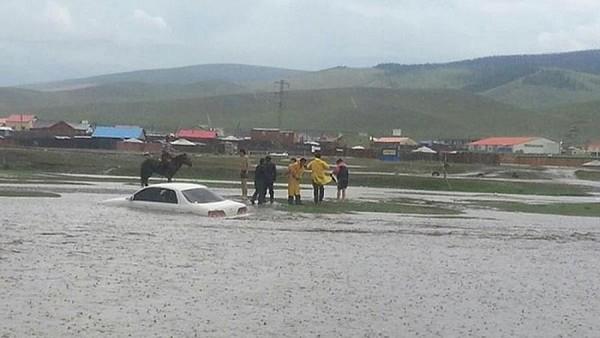 Наводнения в Монголии, август 2018 г.