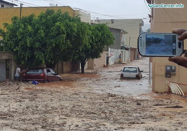 Наводнение в Бразилии и в Перу, 13 ноября 2017 года