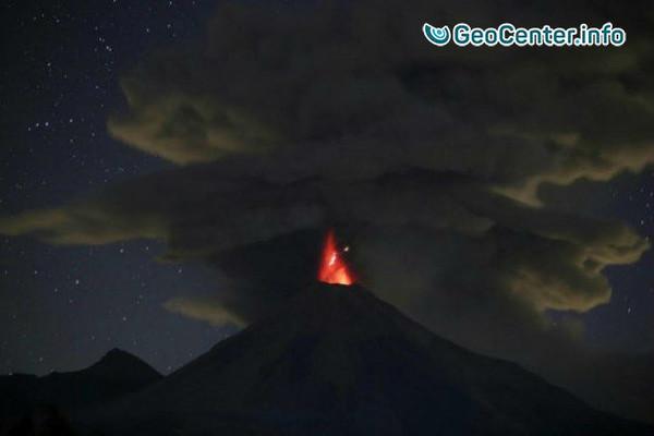 Вулкан Колима (Мексика): возможна принудительная эвакуация жителей