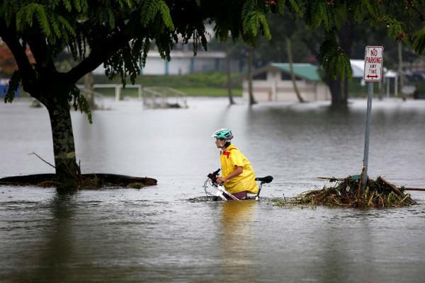 Ураган «Лейн». Наводнения и оползни на Гавайах, август 2018 г.