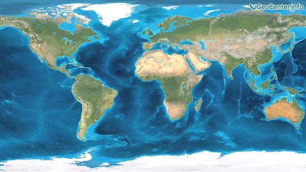 Геология Земли от 600 миллионов лет назад до сегодняшних дней