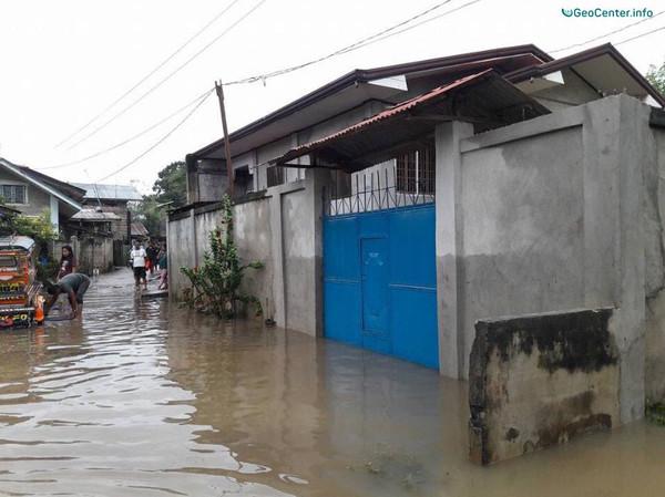 Наводнение на юге Филиппин (Юго-Восточная Азия)