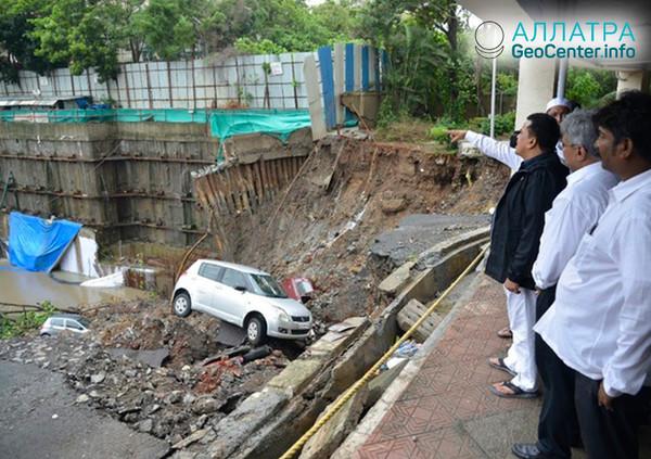 Наводнение в Мумбаи, июнь 2018 г.