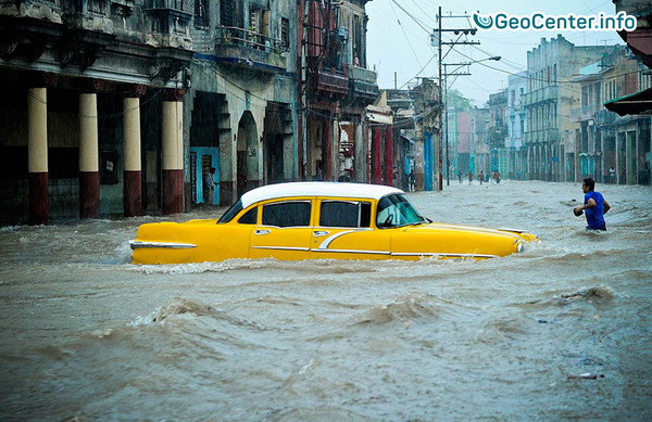 Наводнение в трёх штатах Мексики