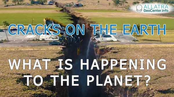 Cracks in the Earth! What is happening to the planet? Climatic changes 104