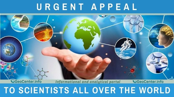 Urgent appeal to scientists all over the world