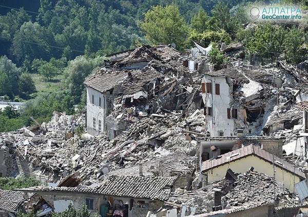 Более 93 000 землетрясений потрясли Центральную Италию за последние 2 года