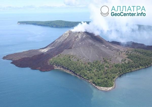 В Индонезии активизировался вулкан Кракатау, Индонезия, ноябрь 2018 года