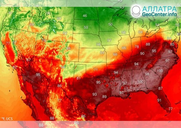 Anomálna horúčava v krajinách sveta