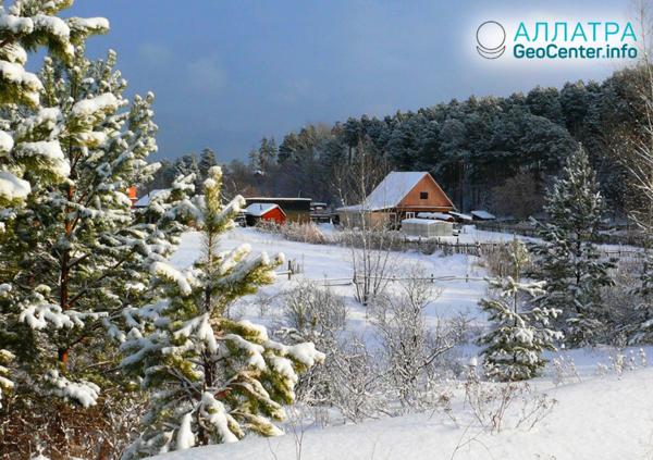 Аномальное потепление на востоке России, январь 2019