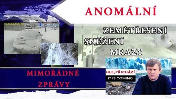 Mimořádné zprávy. Anomální zemětřesení a sněžení v Itálii, Japonsku, Číně. 2. díl. HLE, PŘICHÁZÍ.