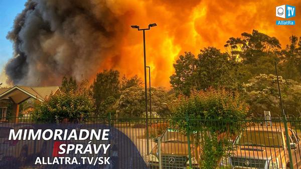 Austrália v ohni! Zemetrasenia: Albánsko, Čína. Záplavy: Mexiko, Taliansko, Francúzsko ǀ AllatRa TV