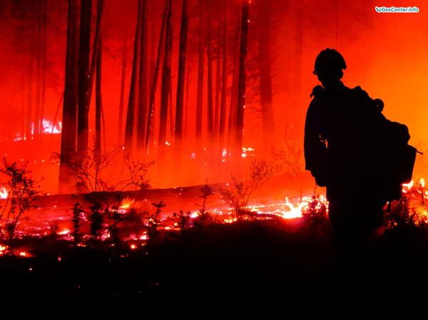 Лесные пожары в Хорватии, июнь 2017