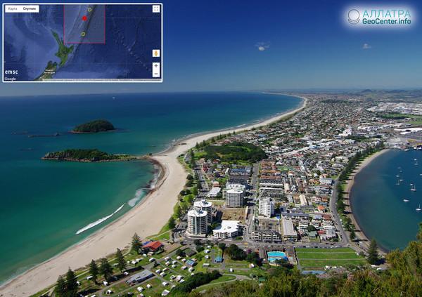 Мощное землетрясение у берегов Новой Зеландии, сентябрь 2018 г.