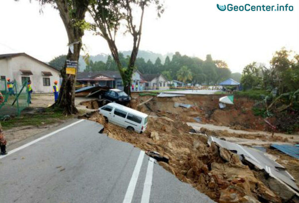 Оползень в Малайзии