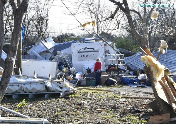 Серия торнадо и сильные ветра в США, 18-19 ноября 2017 года