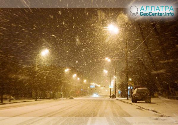 Сибирские снегопады первой недели ноября 2018 г.