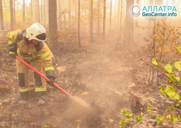 Пожар во Владимирской области (Российская Федерация), август 2018 г.