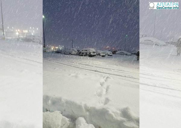 Третий зимний шторм в США за март 2018 г.