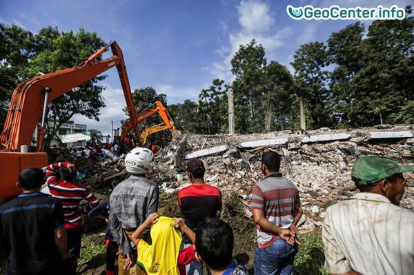 Индонезия после землетрясения 7 декабря