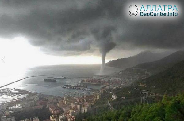 Торнадо в Италии, ноябрь 2018