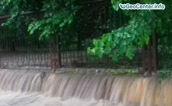 7 июня ливень вызвал потоп в Черновцах
