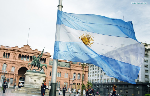 Крупный град в Кордове, Аргентина