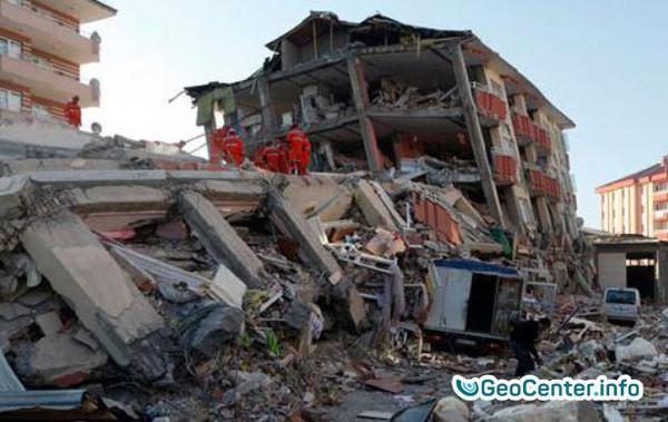 Землетрясения на границе Ирана и Ирака. 11 января 2018