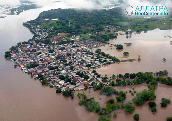 Наводнение в Колумбии, апрель 2018