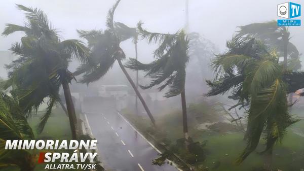"""Cyklón """"Fani"""": MILIÓN ĽUDÍ EVAKUOVALI v Indii. Erupcie sopiek a zemetrasenia: USA, Japonsko"""