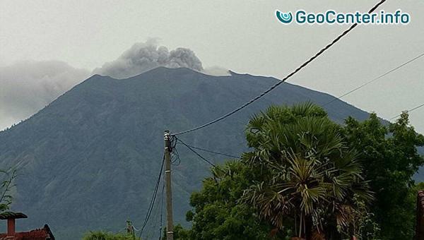 Извержение вулкана Агунг на острове Бали. Что произошло на Планете 27 ноября 2017 Mt. Agung Eruption
