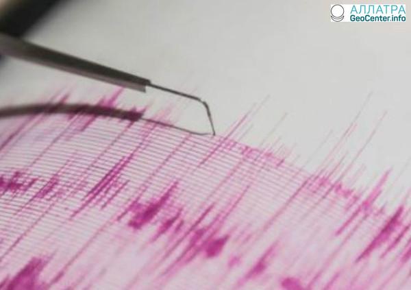 Землетрясение в Греции 28 марта 2018 г.