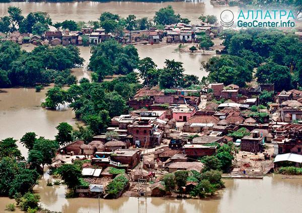 Наводнения в Индии, август 2018 г.