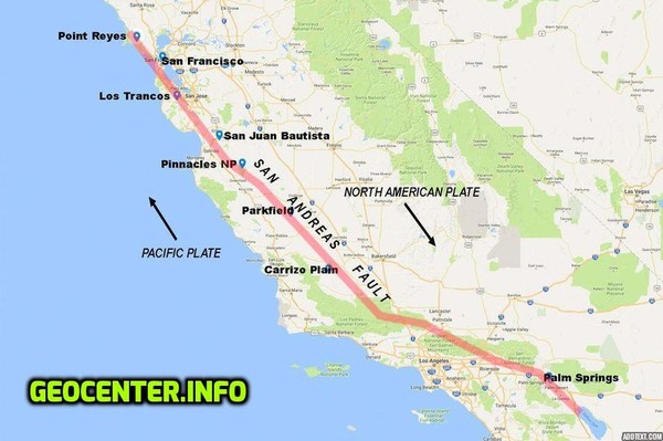 The San Andreas Fault: The earthquake in Mexico was a foreshock - a larger earthquake on the way