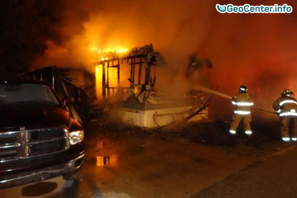 Жителей Колорадо эвакуируют из-за природного пожара