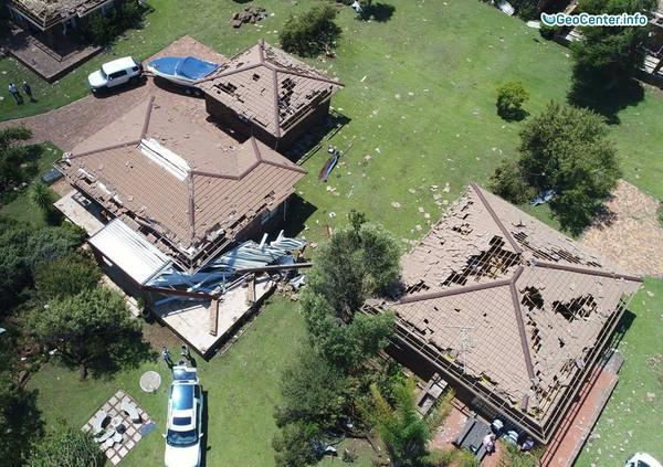 Торнадо в южноафриканских провинциях, 11 декабря 2017 года