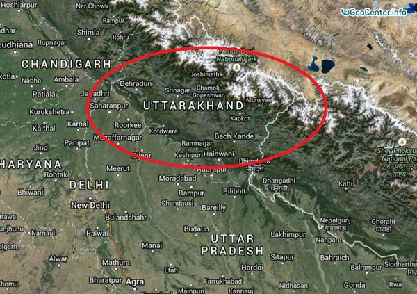 Землетрясение на севере Индии, 6 декабря 2017 года
