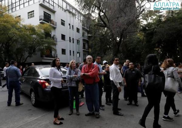 Землетрясение в Мексике магнитудой 7,2, новые данные.
