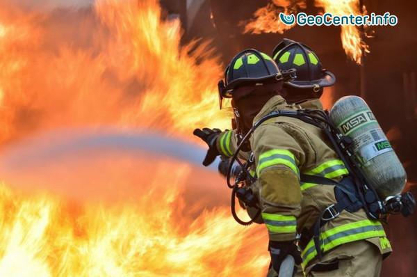 В Южной Калифорнии бушуют пожары, декабрь 2017