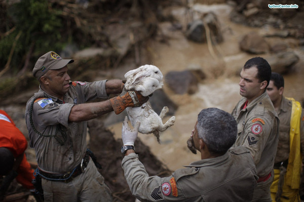 Наводнения на востоке и северо-востоке Бразилии
