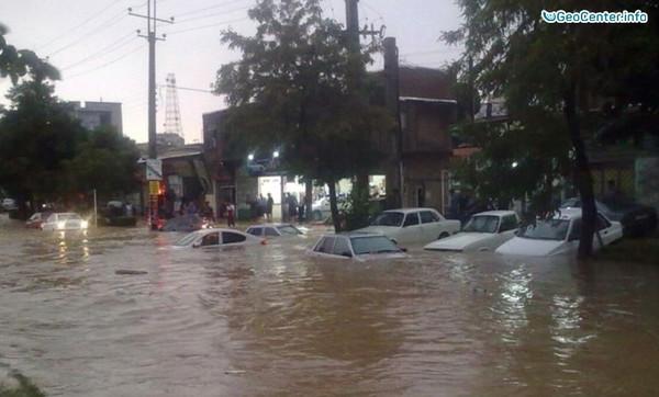 Наводнение на северо-западе Ирана, апрель 2017