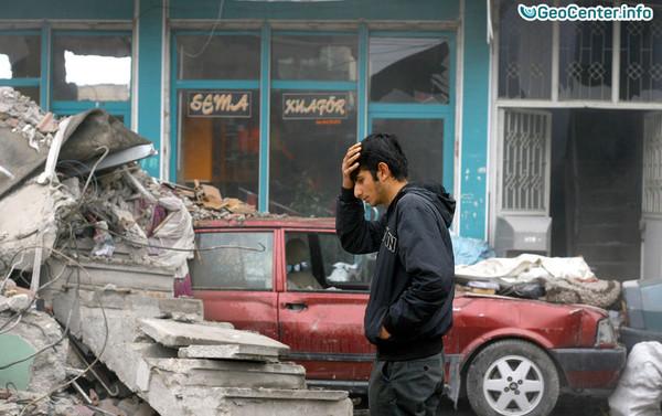 Последствия землетрясения в Турции, март 2017 года